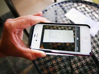 Scanning Important Documents with Your iPhone
