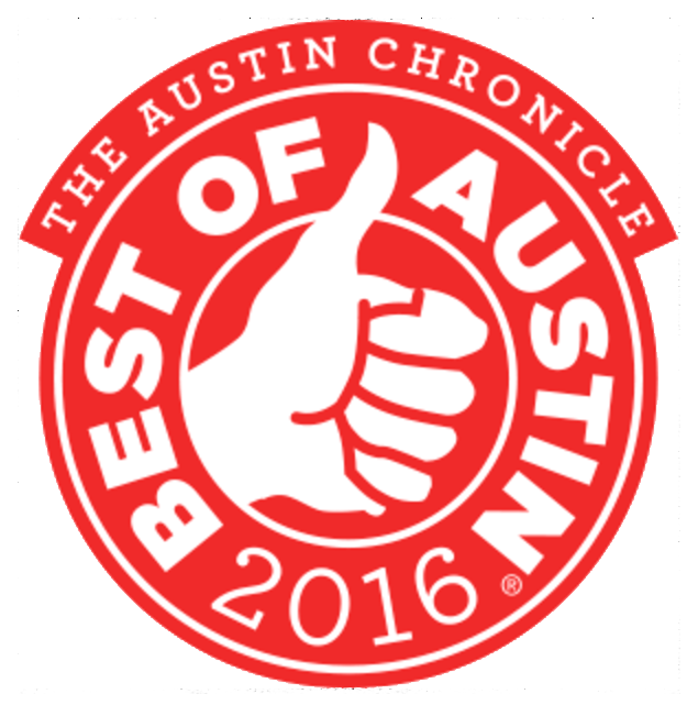 A Plus Apartments! 2017 Best Of Austin Award.
