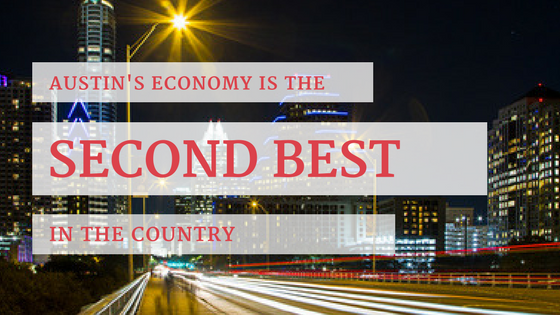 Austin's Economy is the Second Best in the Country